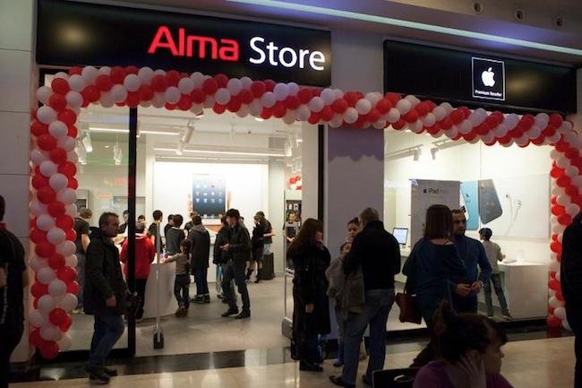 Alma Store Opens A Redesigned Apr In Baku
